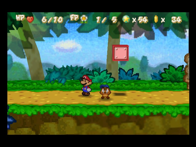 Paper Mario - Level  -  - User Screenshot